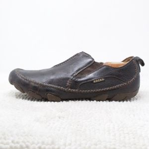 Rocky Brown leather loafer size 8.5/41.5